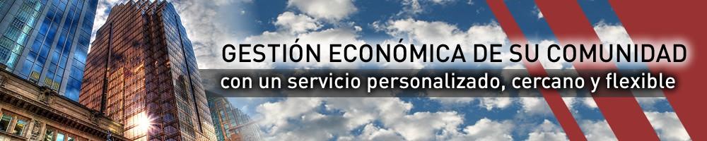 GESTIÓN ECONÓMICA DE SU COMUNIDAD con un servicio personalizado, cercano y flexible